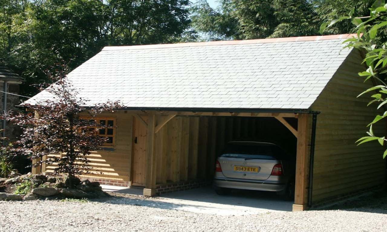 Log Cabin Garage Kits httpwwwbungalowrenovationscom