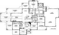 French Country Chateau Floor Plans French Country House ...