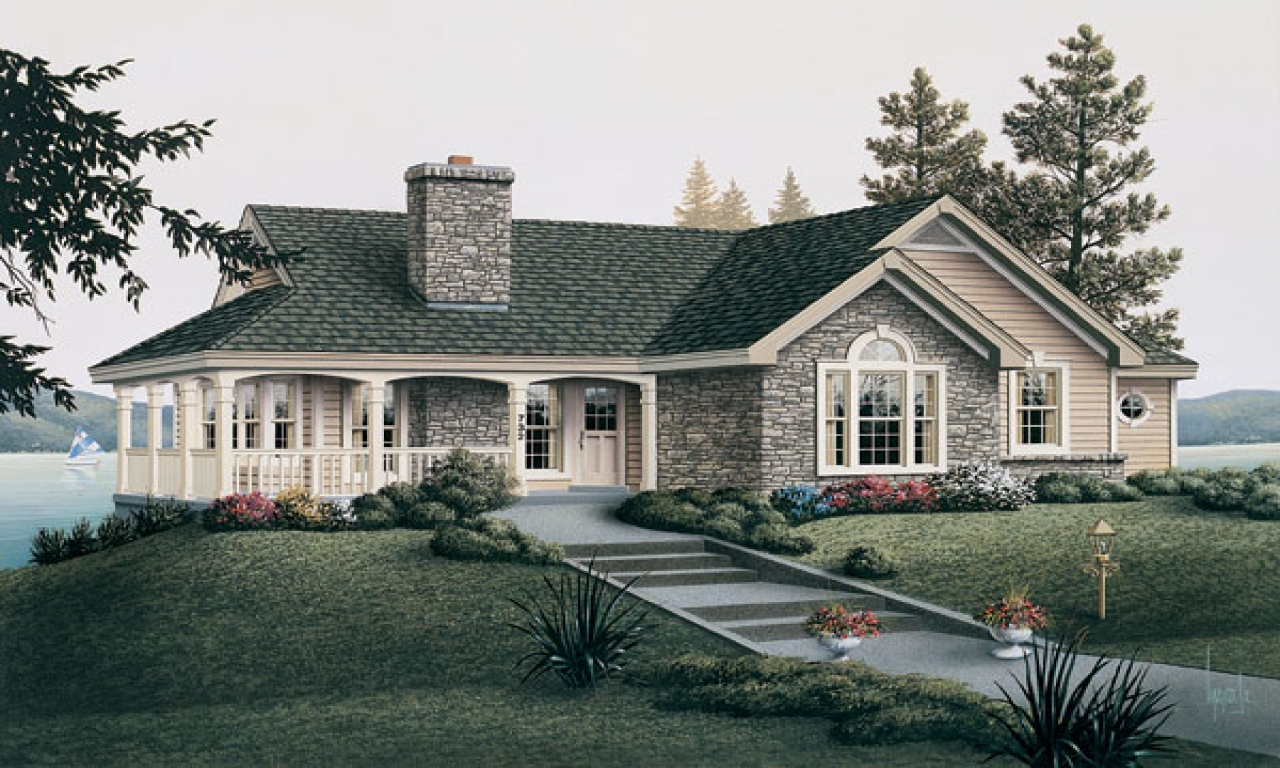 Tiny Romantic Cottage House Plan Country Cottage House