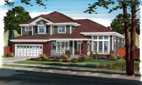 Craftsman Style House Plans Craftsman Bungalow House Plans ...