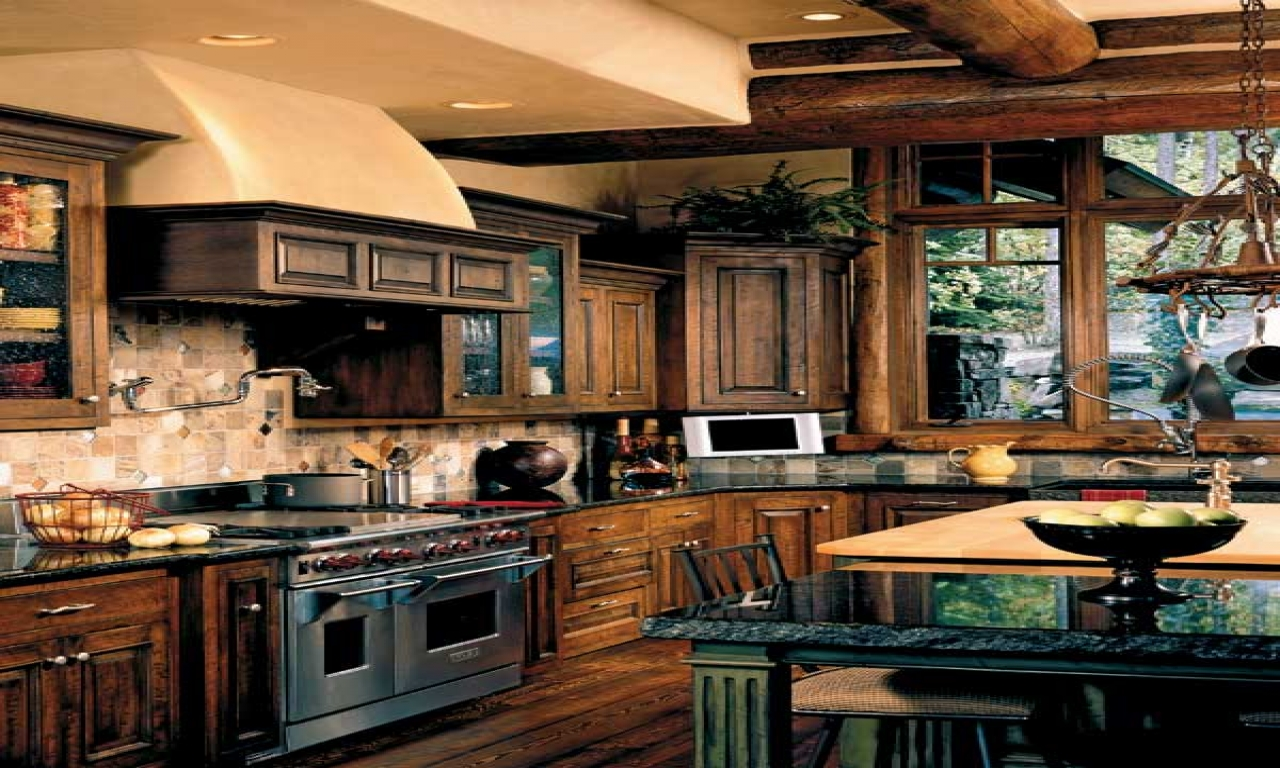 Rustic Italian Farmhouse Kitchens Rustic Dream Kitchen old world houses  Treesranchcom