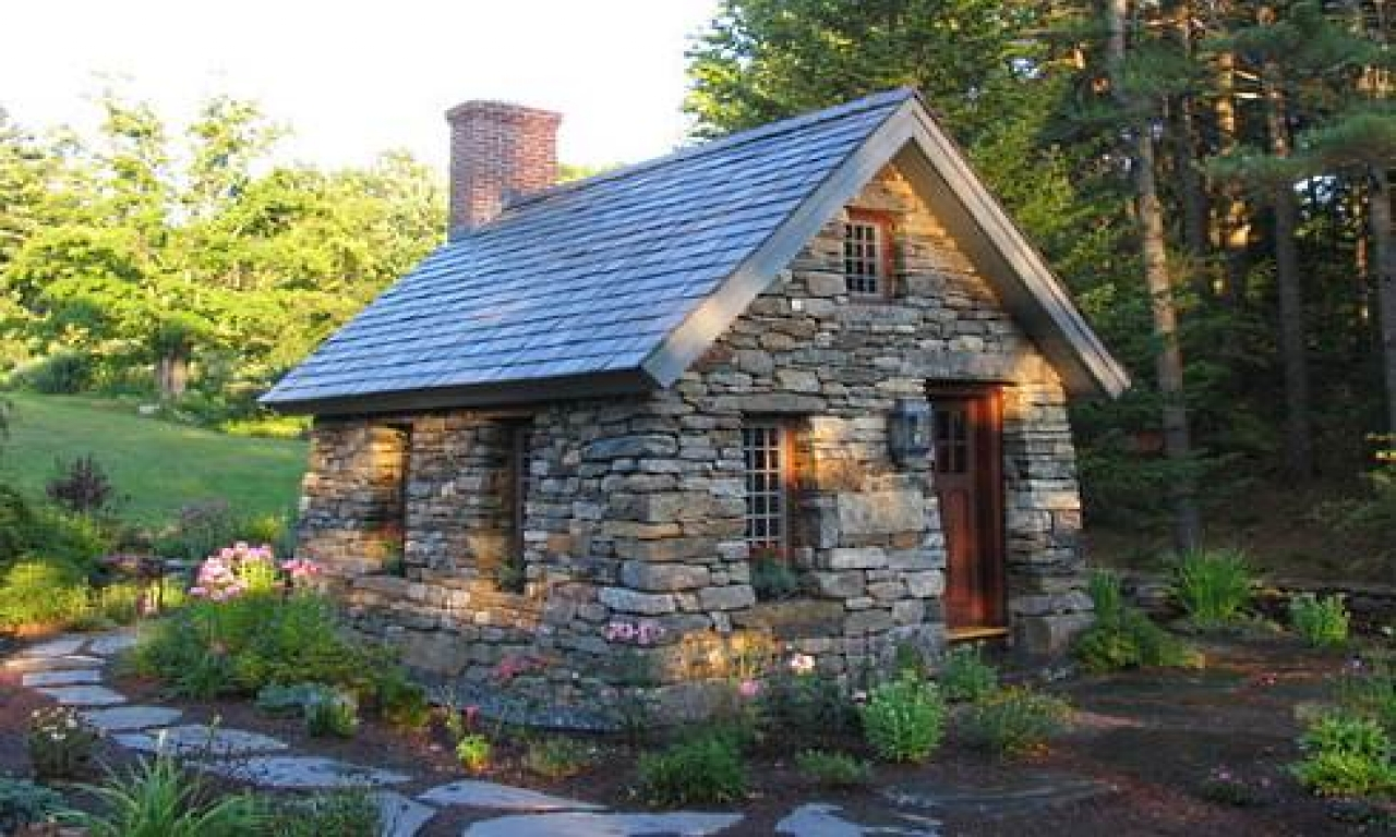 Small Stone Cottage Design Old English Cottage Plans