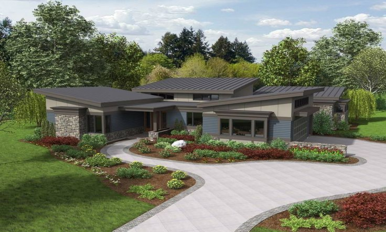 Modern Ranch House Plans Small Contemporary Ranch House
