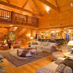 Log Cabin Living Rooms Ideas Decorate A Small Square Room Luxury Cabins Smoky Mountains Private Secluded ...