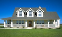 Country House Plans with Porches Country Home Plans with ...
