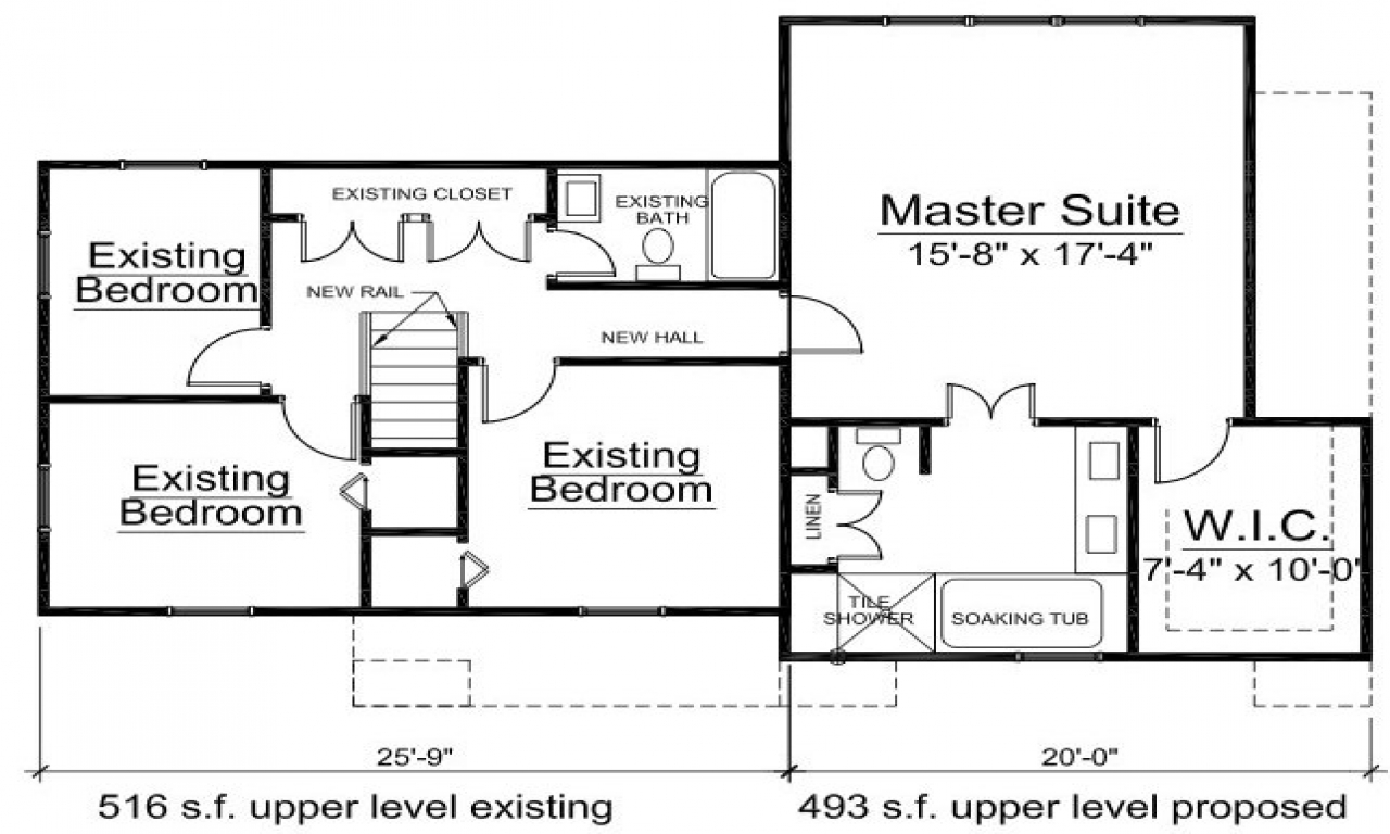 Home Addition Floor Plans Home Addition Drawings, 2nd floor house plans   Treesranch.com
