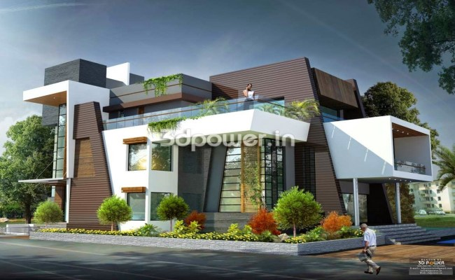 Modern Bungalow House Design India Small Modern House