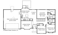 Simple Ranch House Plan Texas Ranch House Plans, 1 story