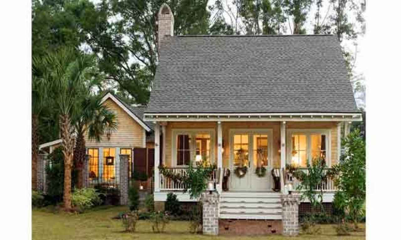 southern living small cottage house plans southern cottage