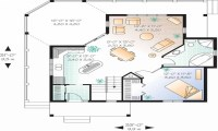 One Bedroom House Interior One Bedroom House Floor Plans ...