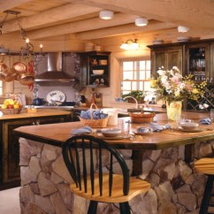 Design Your Own Kitchen Island Buy Sink Country Log Home