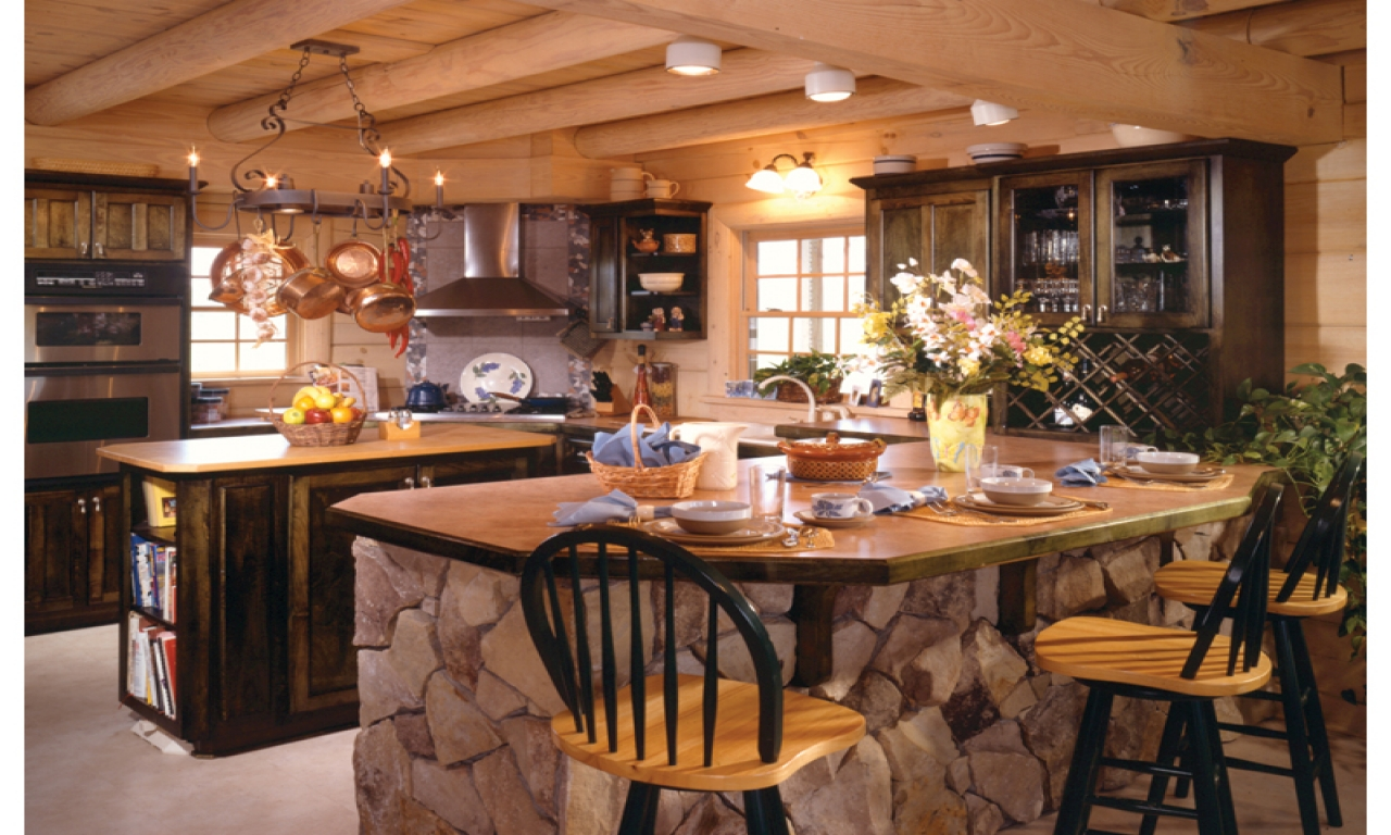 design your own kitchen island pfister faucet parts country log home