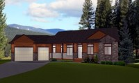 Rectangular House Plans Ranch Style Ranch Style House ...