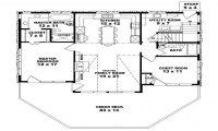 2 Bedroom 1 Bath House Plans 2 Bedroom 1 Bath House, small ...