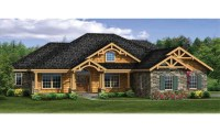 Craftsman House Plans with Walkout Basement Modern ...