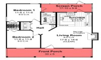 House Plans Under 800 Sq FT 4 Bedroom House Plans, 850 sq ...