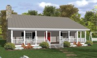 Country House Plans with Porches Country House Plans with ...