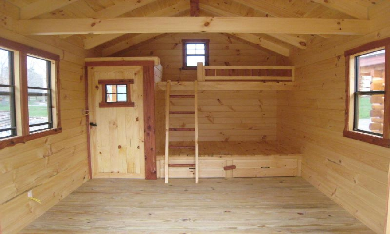 DIY Small Cabin Plans Small Cabin Plans with Loft small