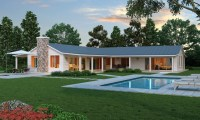 L shaped Ranch Style House Plans Simple L