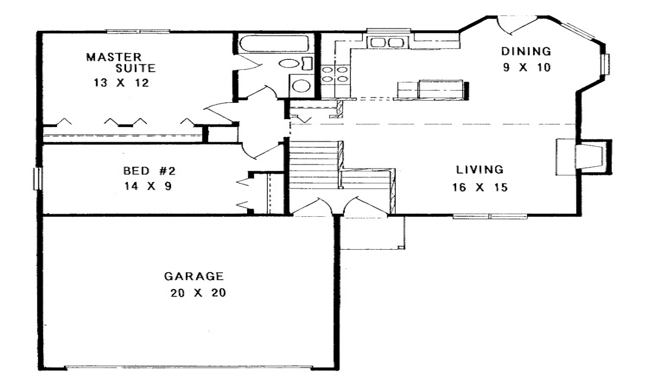 Simple Small House Floor Plans Small House Floor Plans 2