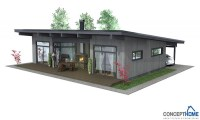 Very Simple Small House Affordable Small Modern House Plan ...