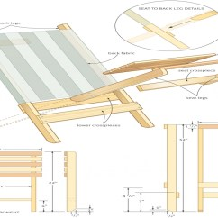 Folding Chair Plans Bright Starts Ingenuity High Build Beach Designs
