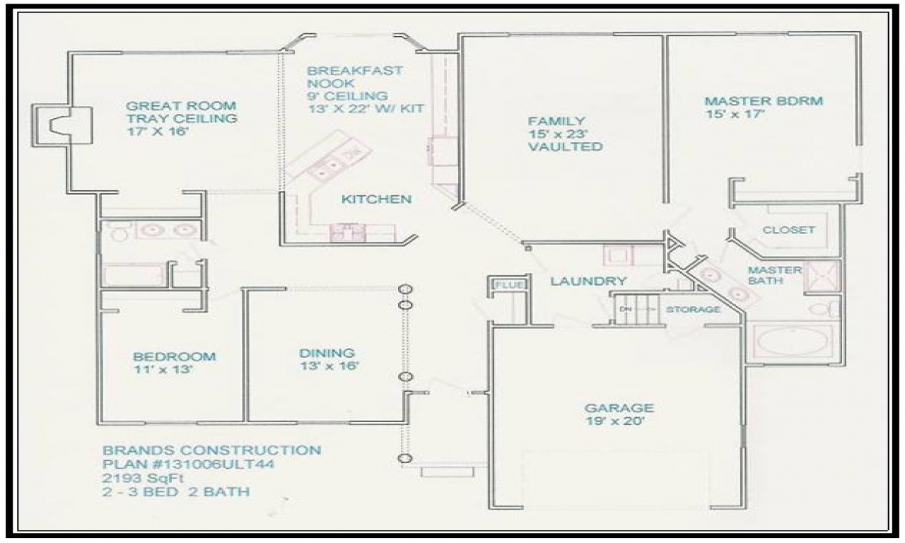 Free Home Blueprints Floor Plan Free House Floor Plans and
