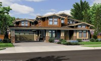 Northwest Lodge Style House Plans Pacific Northwest House ...