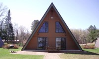 Small a Frame Cabin Plans Frame a Small Cabin House, a