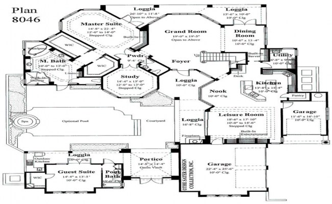 Master Bedroom First Floor House Plans Small Master