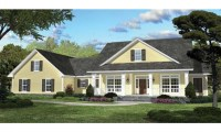 ePlans Country House Plan Country Charisma 2100 Square
