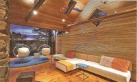 Cozy Log Cabin Interiors Modern Log Cabin Interior Design ...
