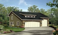 Single Level House with RV Garage RV Garage with Apartment ...