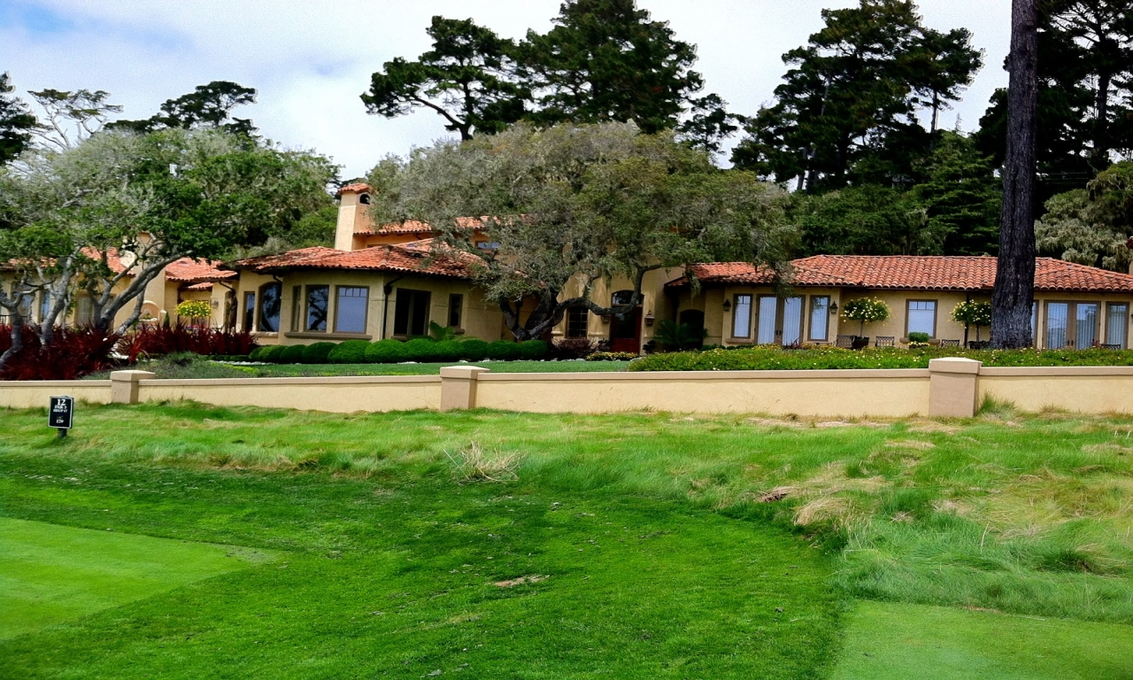 Bing Crosbys Family Bing Crosby Home Pebble Beach beach style homes  Treesranchcom