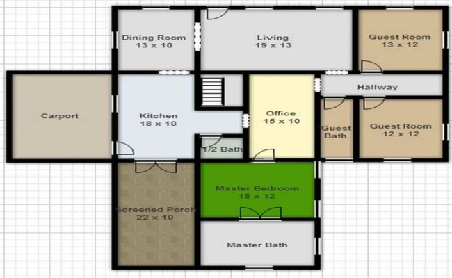 Free Online House Design Floor Plans Home Design Software