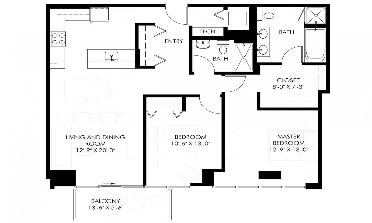 Ranch House Plans Sq Ft
