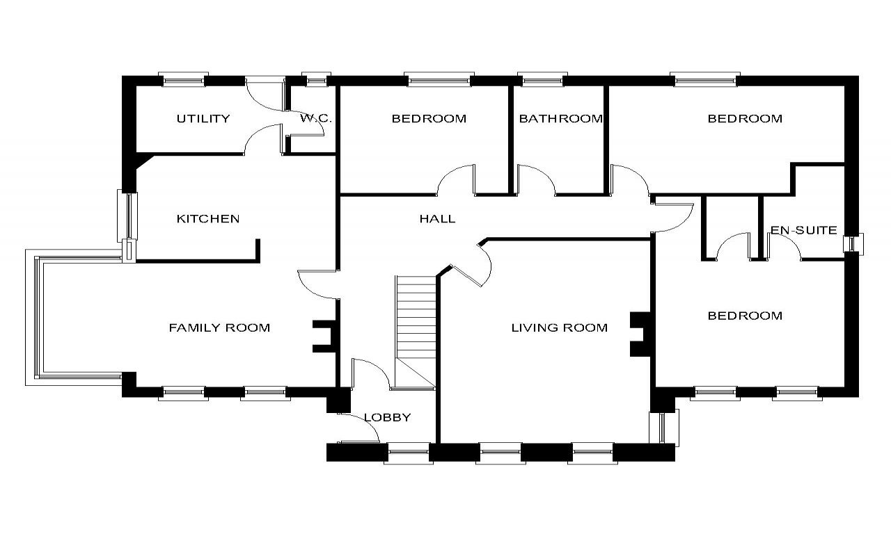 Bungalow House Floor Plans with Dormers Bungalow House