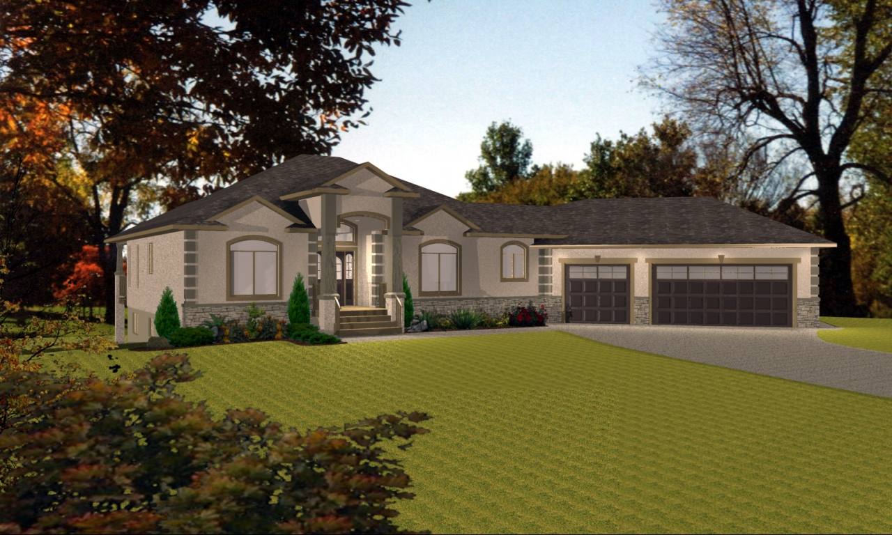 House With Angled Garage Ranch With Angled Garage House
