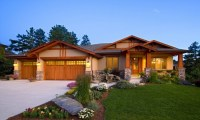 Ranch Style Home Exteriors Craftsman Ranch Home Exterior ...