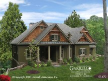 Mountain Craftsman Style House Plans Cottage