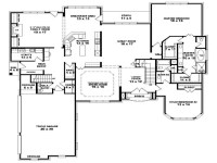4 Bedroom One Story House Plans Our Two Bedroom Story ...