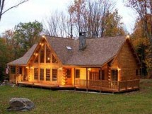 Cedar Log Home Design Cabins Story