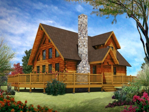 Luxury Mountain Log Homes Cabin Home Design