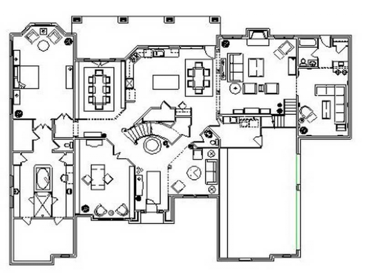 Residential Floor Plans Designs Floor Plans for Ranch