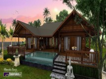 Tropical Style House Plans Island