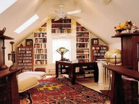Small Home Office Library Ideas Home Library Bookcases ...