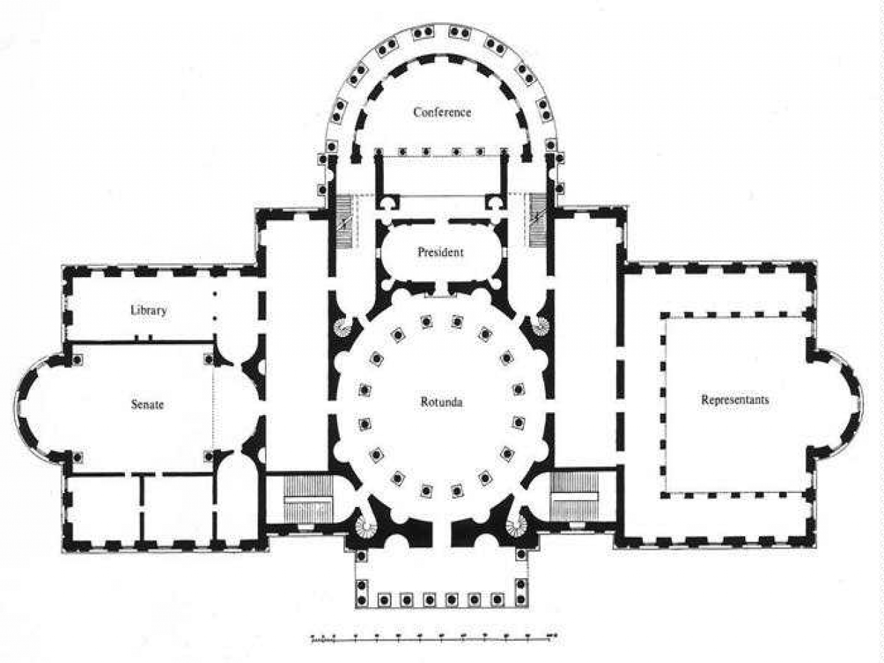 US Capitol Building Floor Plan U.S. Capitol Building Clip
