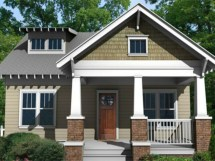 Small Craftsman Bungalow Style House Plans Floor