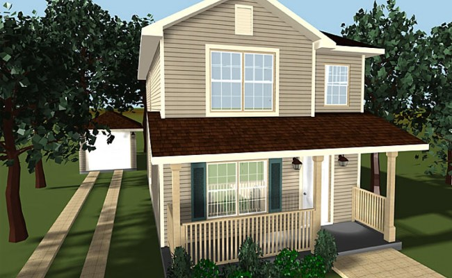 Small Two Story House Plans One Story House Two Story