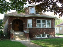 Chicago Bungalow Style Homes Brick